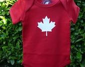 Maple Leaf Onesie