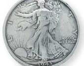 1943 Liberty Half-Dollar Concho