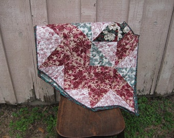 Cranberry Christmas tree skirt