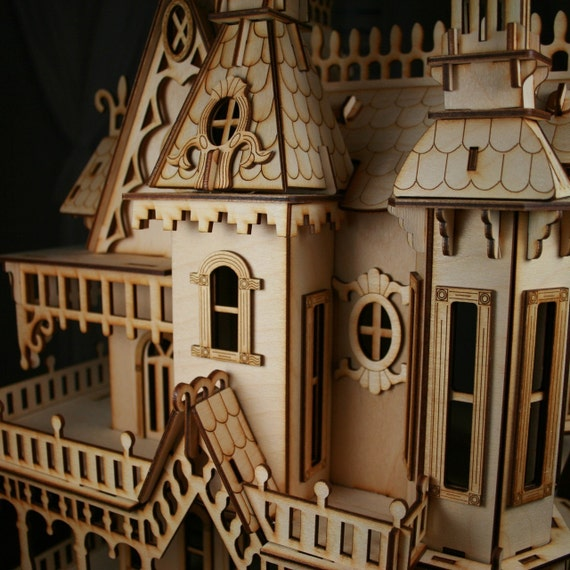 Casa in stile vittoriano for Case gotiche vittoriane in vendita