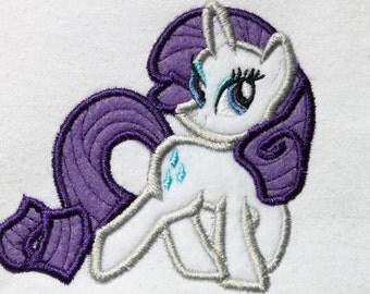 Rare Pony Embroidery Design