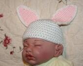 Super Cute Newborn Baby Bunny Hat