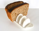 Toast Holder of White Porcelain Vintage Collectible