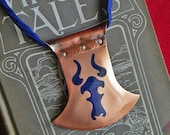 Viking Style Axe Blade Necklace