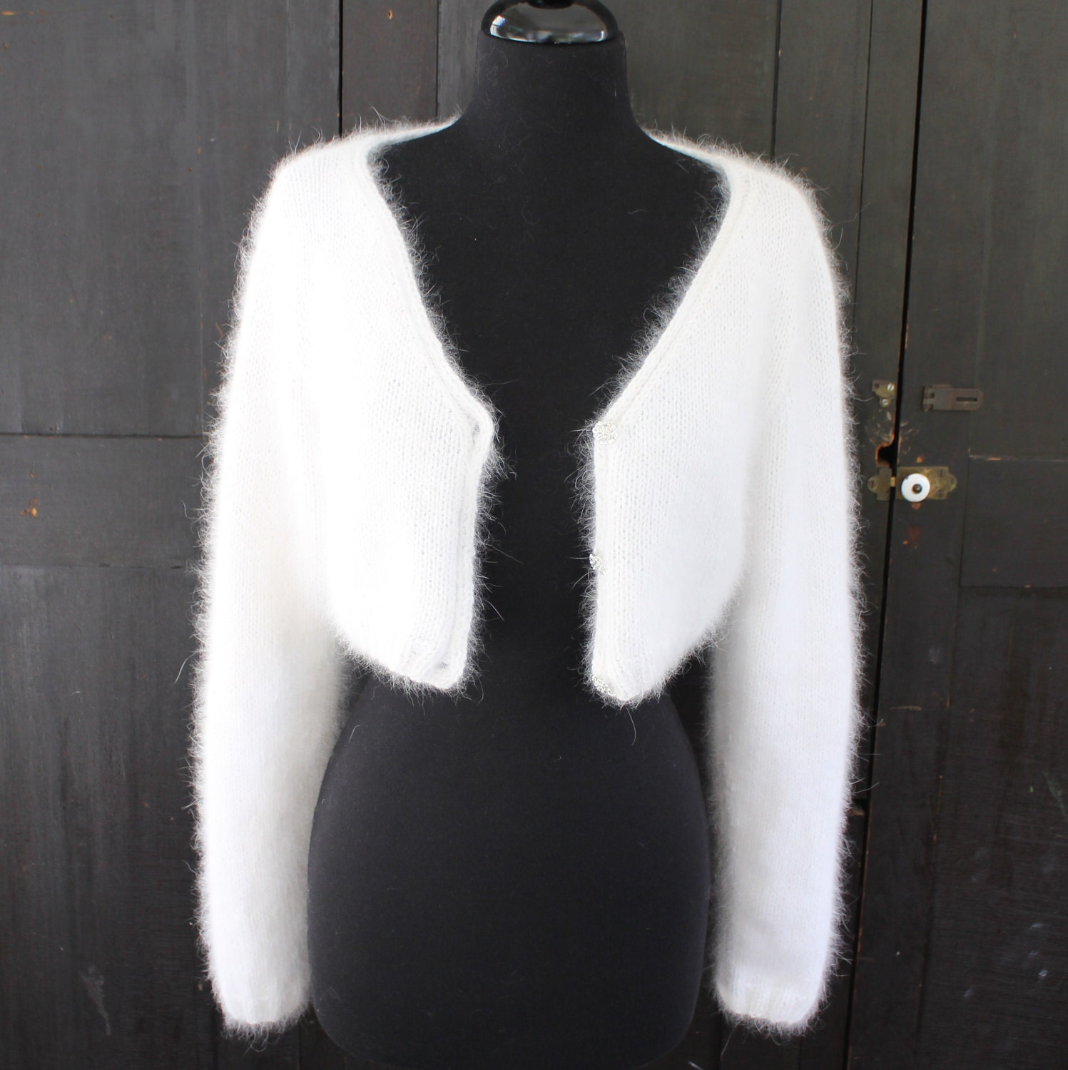 PATTERN Kate Middleton Royal Angora Wedding Shrug/Bolero