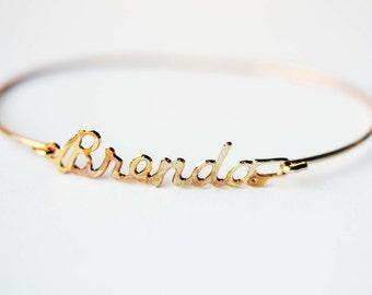 Vintage Name Bracelet - Brenda