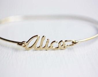 Vintage Name Bracelet - Alice