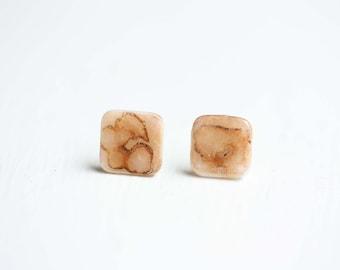 Tiny Pebble Studs