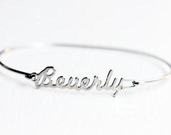 Vintage Name Bracelet - Beverly