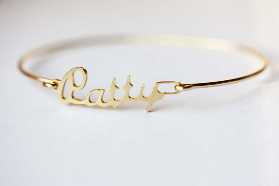 Vintage Name Bracelet - Patty