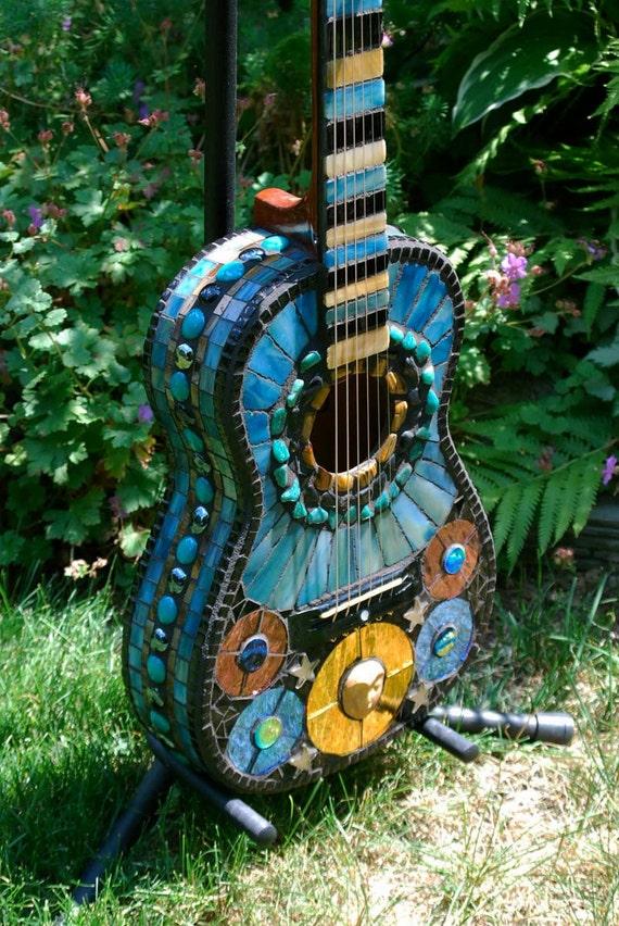 Mosaic Guitar Venus