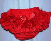 Sassy Fancy Ruffle Panty, Great for Christmas photo Ruffle Pants, Ruffle Bloomers, Fancy Pants, Handmade Sassy Britches