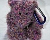 Purple Bear Phone Cozy
