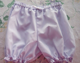 Little Cotton Bloomers   light lavender  Size 3T FREE USA SHIPPING