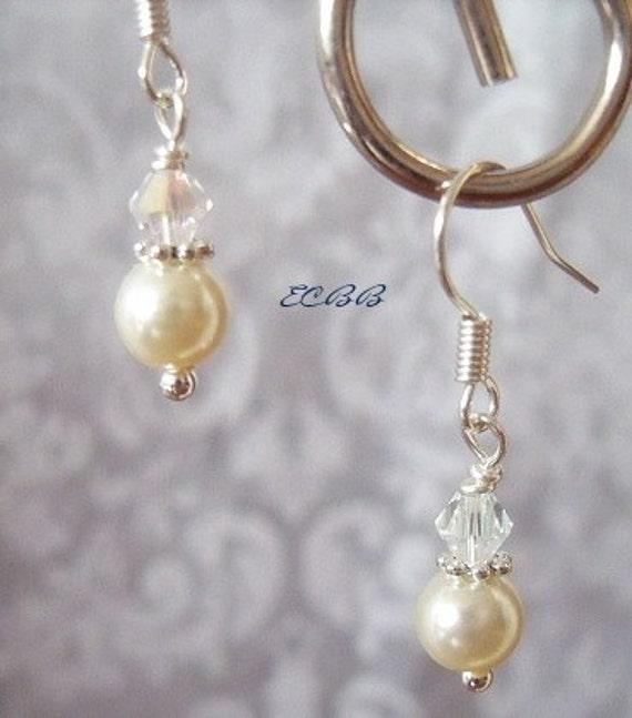 Pearl and Crystal Drops