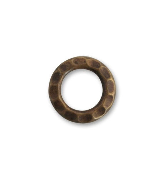 4 pieces 16mm Small Open Gear brass ring by Vintaj Item HW0040