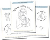 Embroidery Pattern: Twin Peaks Tribute Embroidery Pattern Set
