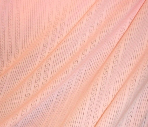 """Organic, Cotton, Knit, Fabric, Wholesale, Charity, Donation, DeVine, Pointelle, Baby, Blanket, Swaddler, 2 yards, Pink, 60"""" width"""