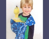 Kid's Ring Sling for Dolls --Boy's Edition--