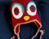 CUSTOM SALE for GISELLE - Owl Beanie baby 6-12 months