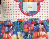 Guatemala Does Disney 3T/4T Sundress