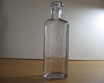Sloans Liniment Boston Mass antique bottle