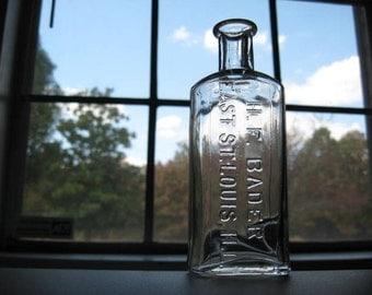 H F BADER EAST ST LOUIS ILL Antique Bottle