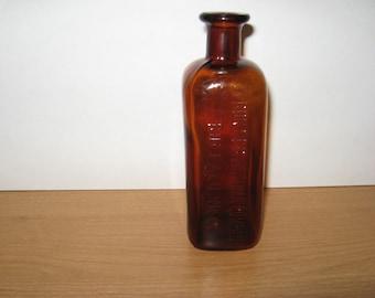 FRONTIER ASTHMA COMPANY BUFFALO NY ANTIQUE BOTTLE