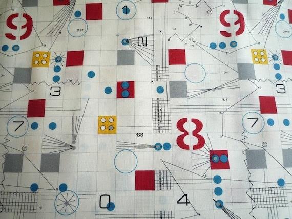 Drafting (White) - Japanese Cotton Fabric