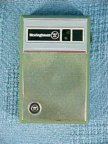 Westinghouse Time Capsules: IT WORKS Old Transistor Radio Vintage 1964 Westinghouse 7