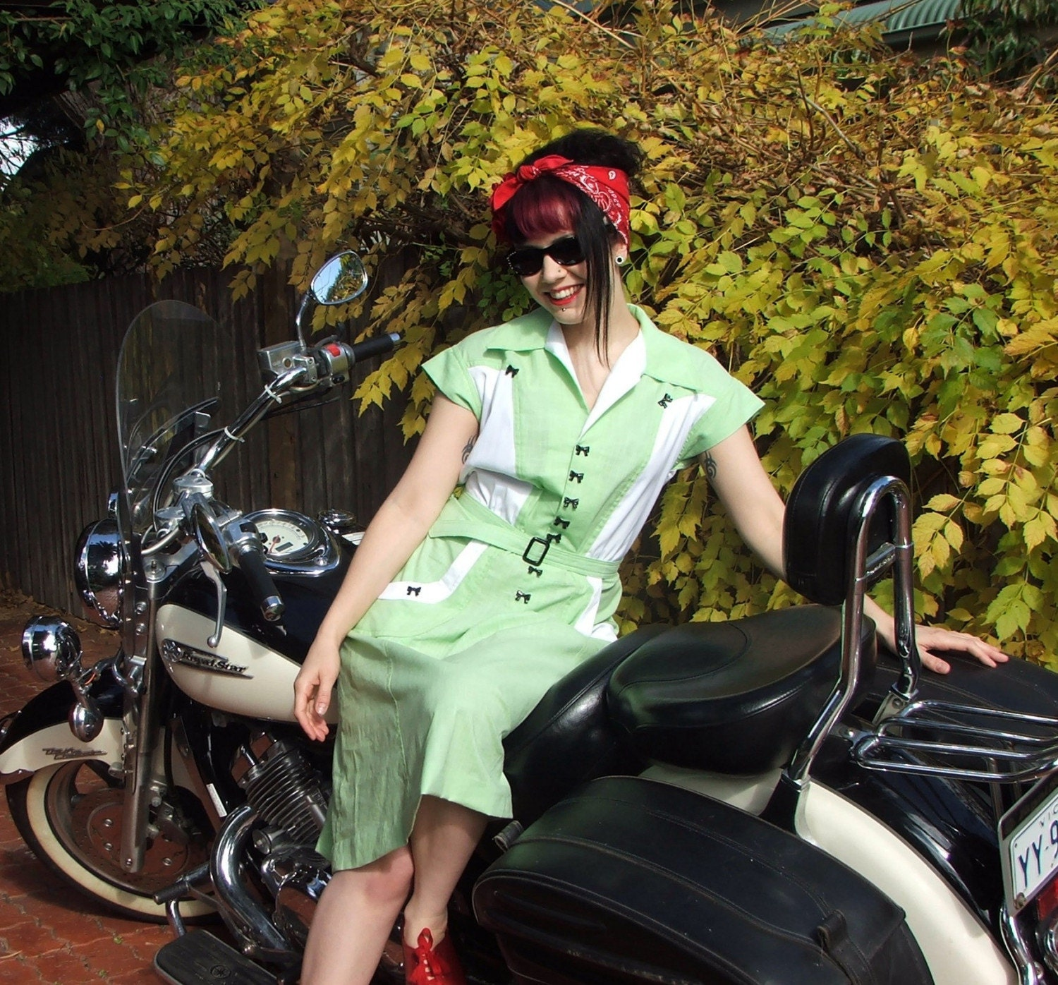 1940s Styled Vintage Reproduction Waitress By Jacksdaughter