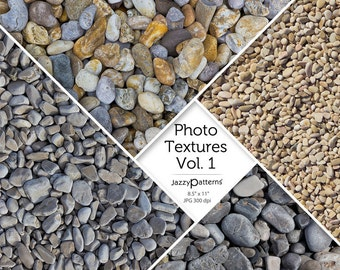 Photo textures Beach Pebbles Vol.1 - digital background, texture, photography