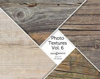 Wood Grain Photo Textures Vol.6 digital background, texture, printable photography backdrop, instant download
