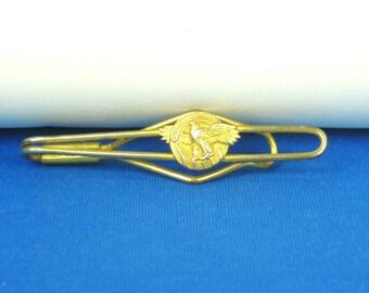 Vintage Gold Tone Metal Eagle Tie Tack