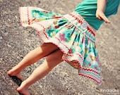 Super-Twirl Banded hem skirt E-Pattern all sizes (with custom fitting instructions)