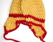 Child Hat Crocheted of Baby Alpaca
