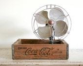 Wooden Soda Crate - Vintage Industrial Beverage Box - Coca Cola