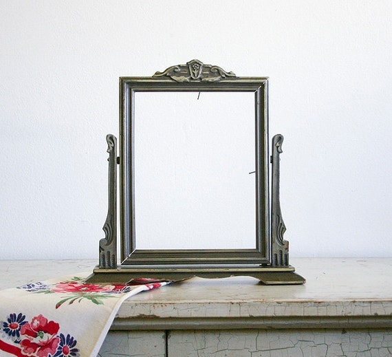 Antique Swinging Picture Frame