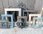 Upcycled - Vintage - Industrial Cottage Neutralism - Picture Frame - Wall Art Collection