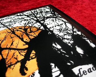 Original Digital Zombie Art Print The Living Dead 8x10
