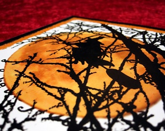 Original Digital Art Print Cauldron Bubble 8x10 Witch Art