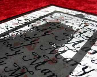 Bloody Mary 8x10 Original Digital Horror Art Print