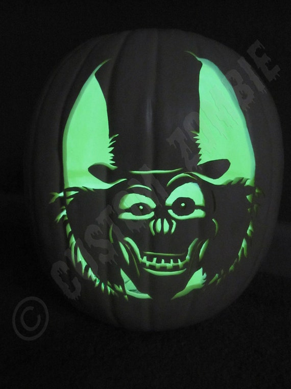 Pumpkin Stencil Top Hat Ghost Carving Crafts