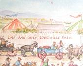 Corgiville Fair by Tasha Tudor