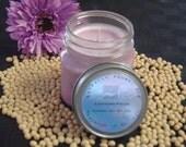 Lavender Fields Natural Soy Candle- 8oz square mason jar