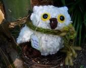 Hoo Hoo Loves You Snow Owl