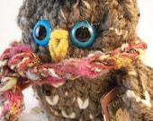 Back to School Theo Blue Eyes Owl