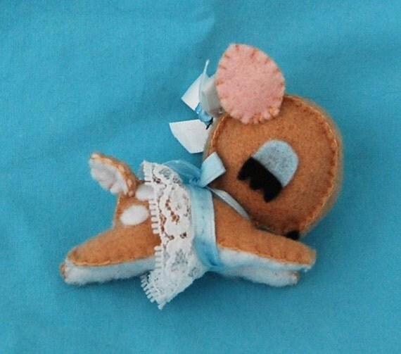 RESERVE for Magali DB Felt plush deer toy