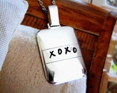 XOXO Charm Necklace Gift for Mom Mother Sweetheart Mothers Daughter Sister