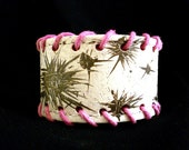 SALE - FREE SHIPPING  Eco-Cuff - Pink Electric Storm